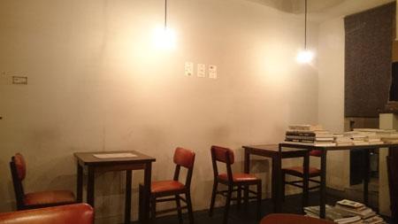 月森テーブル席