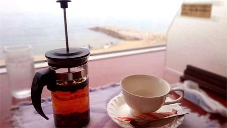 ムーミンパパ、紅茶