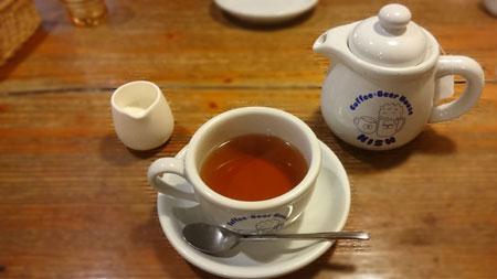 キッシュ江坂店、紅茶