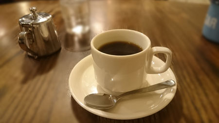 コーヒーハウス井戸、コーヒー