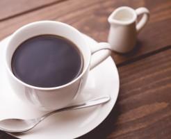 苦味のあるコーヒー